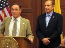 "Supporting New Jersey Legislation sponsored by Sen. Raymond Lesniak (D-Union) and Assemblyman Tim Eustace (D-Bergenfield) Under the new ban, it will become illegal in the Garden State to import or sell ""trophies"" from any species or subspecies of elephant, rhinoceros, tiger, lion, leopard, cheetah, pangolin, marine turtle, or ray listed in Appendix I or Appendix II of CITES (an international treaty governing trade in endangered, threatened, and vulnerable species worldwide). - Elephants DC"